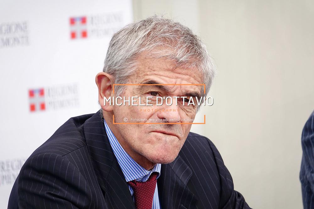 Sergio Chiamparino presidente della Regione Piemonte 8/06/2017