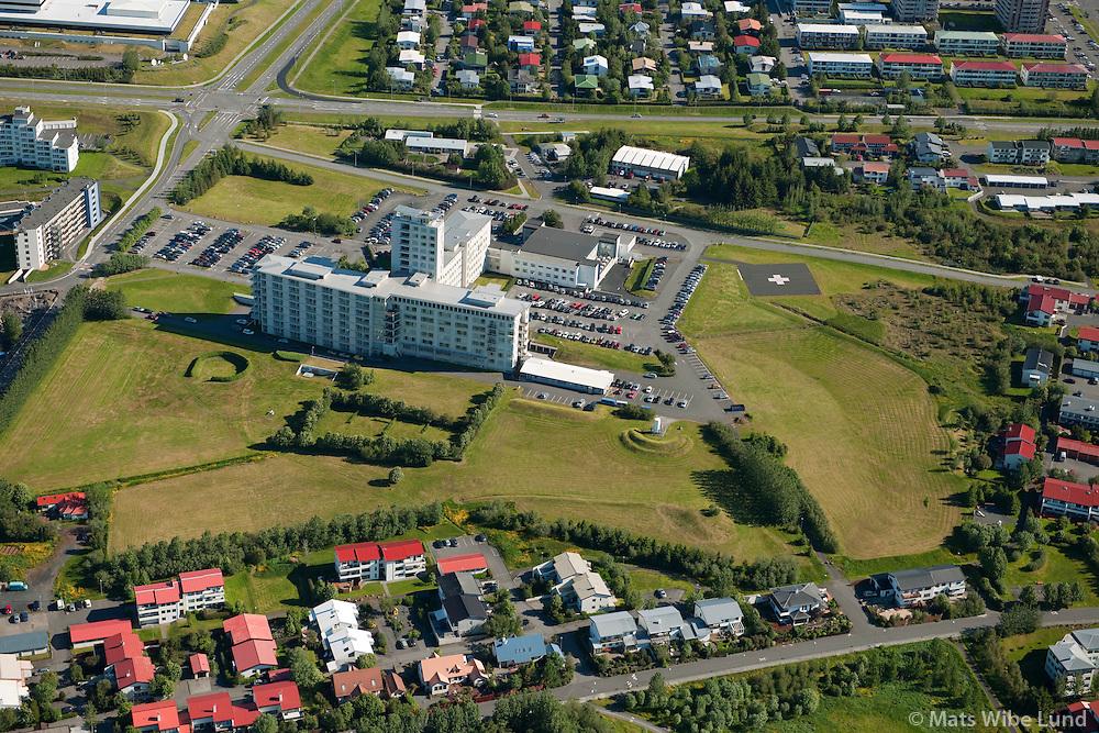 Landspuitali Háskólasjúkrahús Fossvogur, Reykjavik. / University Hospital LSH Fossvogur, Reykjavik.
