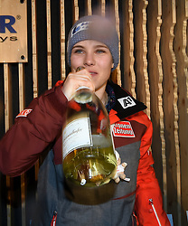 29.01.2017, Tirol Berg, St. Moritz, SUI, FIS Weltmeisterschaften Ski Alpin, St. Moritz 2017, TirolBerg Seefeld Abend, im Bild Schmidhofer (AUT, Weltmeisterin) // World Champion Nicole Schmidhofer of Austria during the Seefeld Night at TirolBerg as a side event for the FIS Ski World Championships 2017. Tirol Berg in St. Moritz, Switzerland on 2017/01/29. EXPA Pictures © 2017, PhotoCredit: EXPA/ Erich Spiess