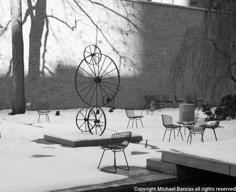 Old Sculpture Garden Museum of Modern Art