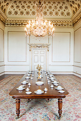 Wentworth Woodhouse Dining Room<br /> <br /> 26 June 2013<br /> Image © Paul David Drabble<br /> www.pauldaviddrabble.co.uk