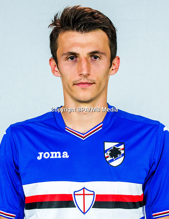 Italian League Serie A -2016-2017 / <br /> ( UC Sampdoria ) - <br /> Ante Budimir