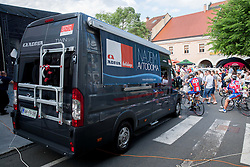during Stage 4 from Brezice to Novo mesto (155,8 km) of cycling race 20th Tour de Slovenie 2013,  on June 16, 2013 in Slovenia. (Photo By Vid Ponikvar / Sportida)
