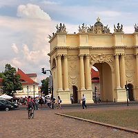 Alberto Carrera, Postdam´s  Brandenburg Gate, Postdam, Brandenburg, Germany, Europe
