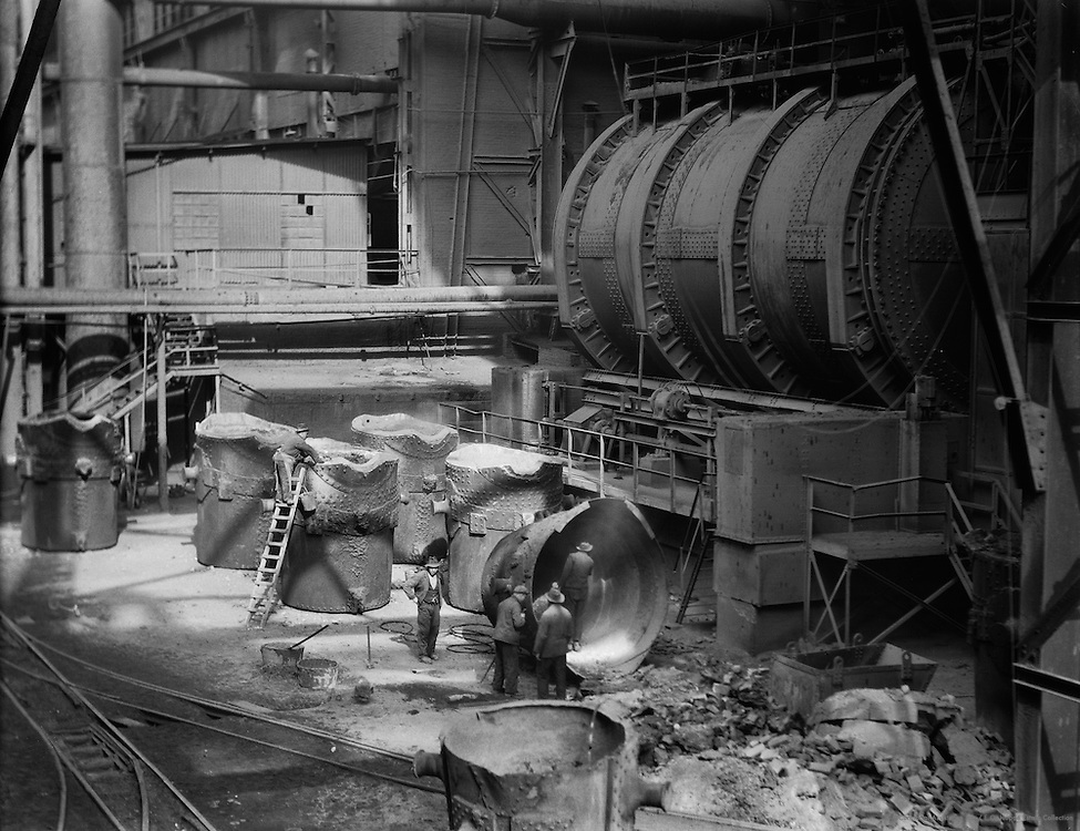 12,000-Ton molten metal mixer, Dortmunder Union / Vereinigte Stahlwerke, Dortmund, 1928