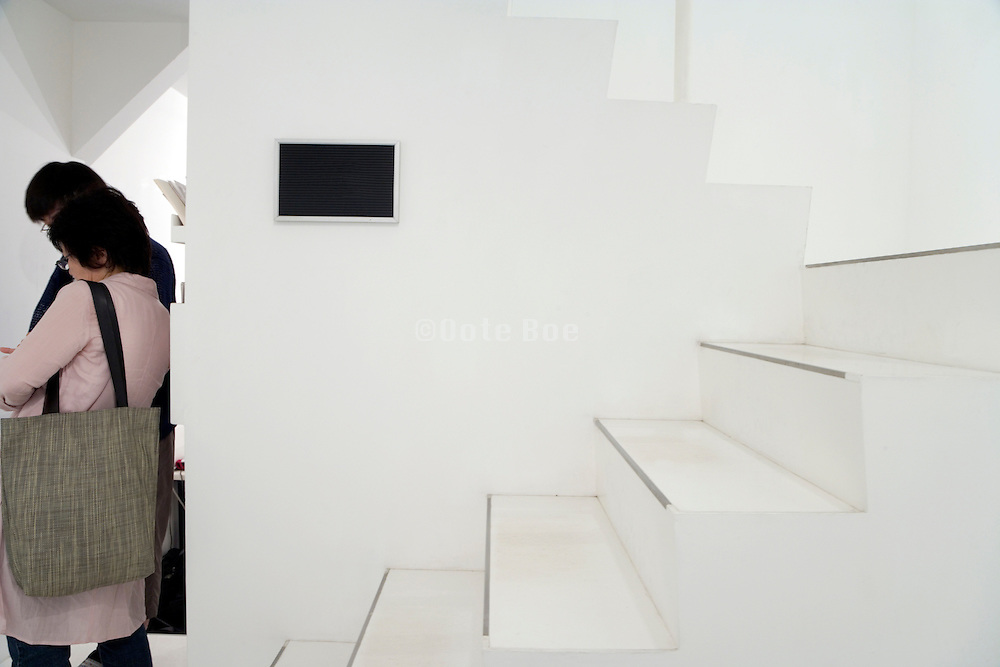 entrance at an gallery in Tokyo