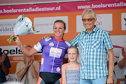 Chantal Blaak (Boels Dolmans) is awarded the combined jersey at the 111 km Stage 4 of the Boels Ladies Tour 2016 on 2nd September 2016 in 's-Hertogenbosch, Netherlands. (Photo by Sean Robinson/Velofocus).