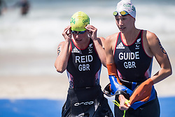 REID Melissa, WALTERS Nicole - Guide, GBR, Para-Triathlon, PT5 at Rio 2016 Paralympic Games, Brazil