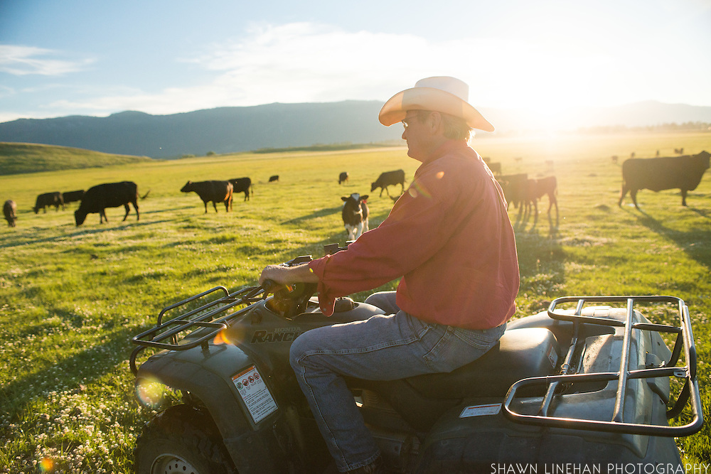 Gary Mosher of Panther Ranch in Donnelly, Idaho