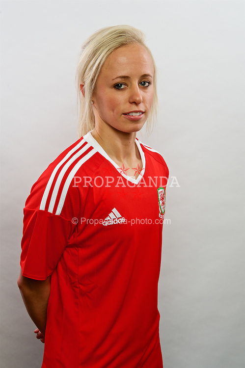 CARDIFF, WALES - Wednesday, April 6, 2016: Wales' Nadia Lawrence. (Pic by Ian Cook/Propaganda)