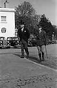 28/04/1965<br /> 04/28/1965<br /> 28 April 1965<br /> New American Ambassador presents Credentials. His Excellency Raymond Richard Guest , (left) American Ambassador, accompanied by Lieutenant Michael O'Gorman outside Aras an Uachtarain before inspecting the Guard of Honour. This was the Ambassador's first diplomatic posting.