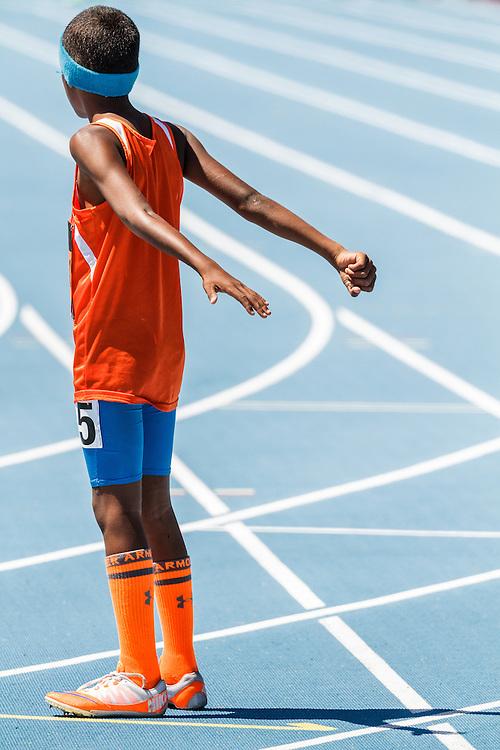 adidas Grand Prix Diamond League Track & Field: boys 4x100 youth relay,