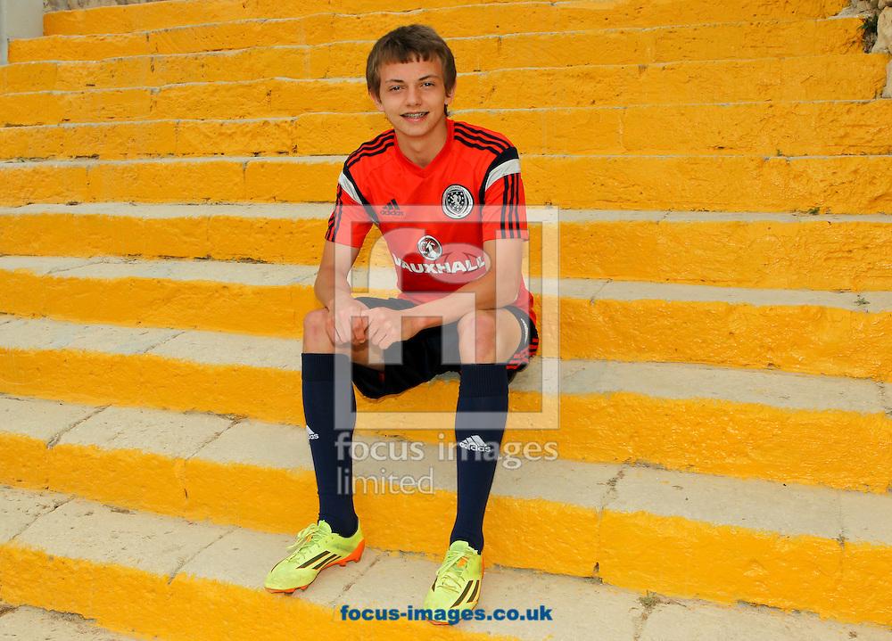 Aidan Robert Nesbitt at Hibernians Stadium, Paola<br /> Picture by Tom Smith/Focus Images Ltd 07545141164<br /> 17/05/2014