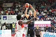 Jakub Wojciechowski<br /> Openjobmetis Pallacanestro Varese - Vanoli Cremona<br /> Lega Basket Serie A 2016/2017<br /> Varese 30/04/2017<br /> Foto Ciamillo-Castoria
