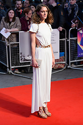 October 12, 2017 - London, London, UK - Ariane Labed attends the UK film premiere of Killing Of A Sacred Deer showing as part of the 51st BFI London Film Festival. (Credit Image: © Ray Tang via ZUMA Press)