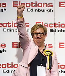 Pictured: Joanna Cherry wins Edinburgh South West for SNP<br /> The Edinburgh Count and  announcements ended  around 4:30 this morning with weary heads around all parties.<br /> <br /> Ger Harley   EEm 9 June 2017
