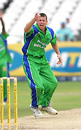 CAPE TOWN, SOUTH AFRICA - 22 February 2008, Johan Louw appeals for the wicket of Vernon Philander during the MTN Domestic Championship match between the Nashua Cape Cobras and the Nashua Dolphins held at Sahara Park, Newlands Stadium in Cape Town, South Africa...Photo by Ron Gaunt/SPORTZPICS