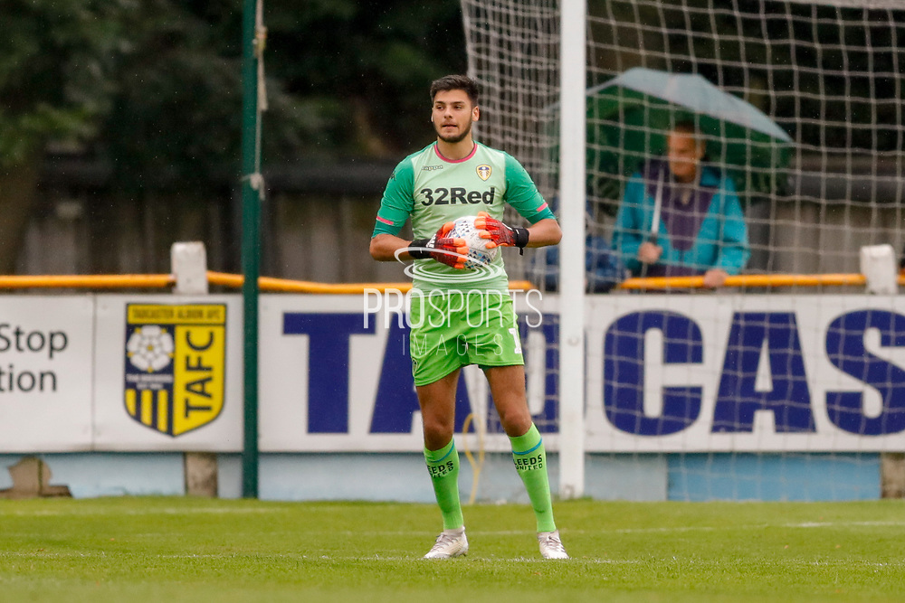 Leeds United goalkeeper A Trialist (1)  during the Pre-Season Friendly match between Tadcaster Albion and Leeds United at i2i Stadium, Tadcaster, United Kingdom on 17 July 2019.