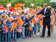 Sint Anna parochie, 13-06-2016<br /> <br /> King Willem-Alexander and Queen Maxima visit Noord-West Friesland<br /> <br /> <br /> <br /> <br /> COPYRIGHT:ROYALPORTRAITS EUROPE/BERNARD RUEBSAMEN