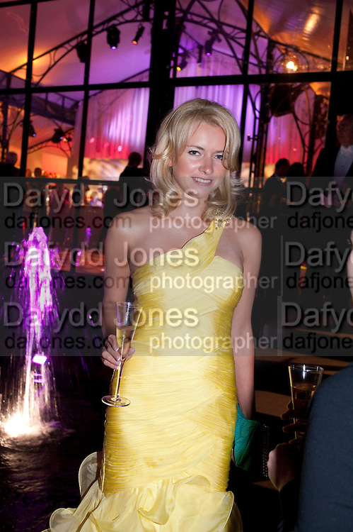 ANASTASIA TARTUTOVA, Evgeny Lebedev and Graydon Carter hosted the Raisa Gorbachev charity Foundation Gala, Stud House, Hampton Court, London. 22 September 2011. <br /> <br />  , -DO NOT ARCHIVE-&copy; Copyright Photograph by Dafydd Jones. 248 Clapham Rd. London SW9 0PZ. Tel 0207 820 0771. www.dafjones.com.