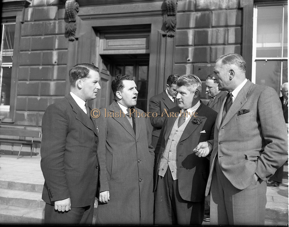 21/04/1954<br /> 04/21/1954<br /> 21 April 1954<br /> <br /> Dail Eireann Budget Group Discussion