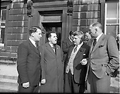 1954 Dail Eireann Budget Group Discussion
