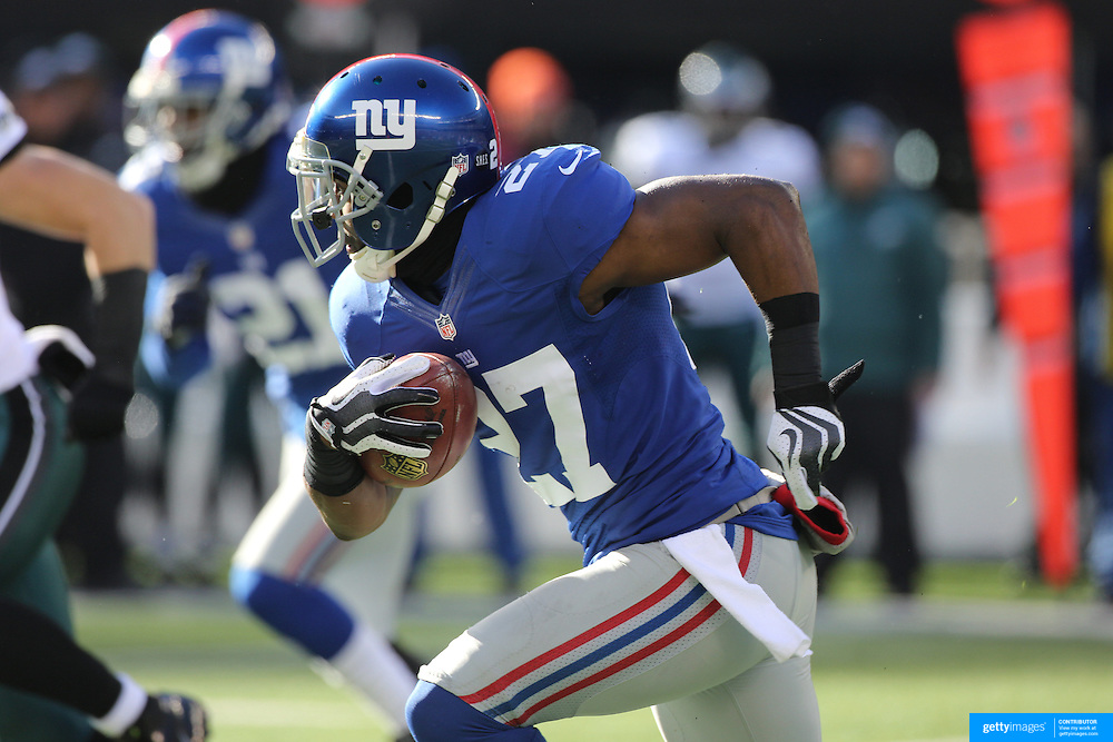Stevie Brown in action during the New York Giants V Philadelphia Eagles NFL American Football match at MetLife Stadium, East Rutherford, NJ, USA. 30th December 2012. Photo Tim Clayton