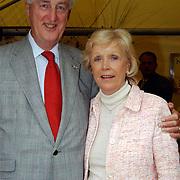 Tennisclinic Hilversum Open 2004, Martin Schröder en vrouw Tineke Nipshagen