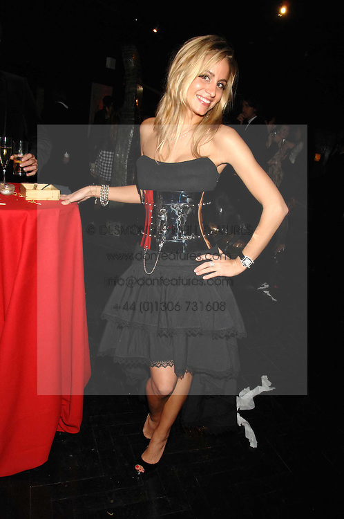 OLIVIA STEELE at Andy &amp; Patti Wong's Chinese new Year party held at County Hall and Dali Universe, London on 26th January 2008.<br /> <br /> NON EXCLUSIVE - WORLD RIGHTS (EMBARGOED FOR PUBLICATION IN UK MAGAZINES UNTIL 1 MONTH AFTER CREATE DATE AND TIME) www.donfeatures.com  +44 (0) 7092 235465