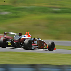 May 23, 2009; Lakeville, CT, USA; Championship leader Remy Audette qualifies for the Formula 2000 Championship Series competition during the Memorial Day Road Racing Classic weekend at Lime Rock Park.