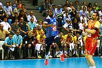 Luc Abalo - 03.05.2015 - France / Macedoine - Qualifications Championnats d'Europe -Toulouse<br />Photo : Manuel Blondeau / Icon Sport