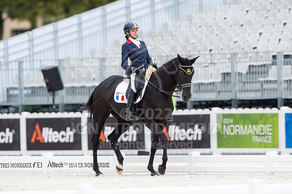 Anne Frederique Royon, (FRA), J Adore - Individual Test Grade Ib Para Dressage - Alltech FEI World Equestrian Games&trade; 2014 - Normandy, France.<br /> &copy; Hippo Foto Team - Jon Stroud <br /> 25/06/14