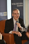 The WSJ Pro Breakfast conference featuring Jon Hilsenrath, Editor of The Wall Street Journal, and William C. Dudley, President & CEO of the Federal Reserve Bank of New York,  in New York City on September 28, 2015. (photo by Gabe Palacio)