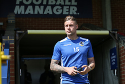 James Clarke of Bristol Rovers arrives at the stadium Mandatory by-line: Arron Gent/JMP - 19/04/2019 - FOOTBALL - Cherry Red Records Stadium - Kingston upon Thames, England - AFC Wimbledon v Bristol Rovers - Sky Bet League One