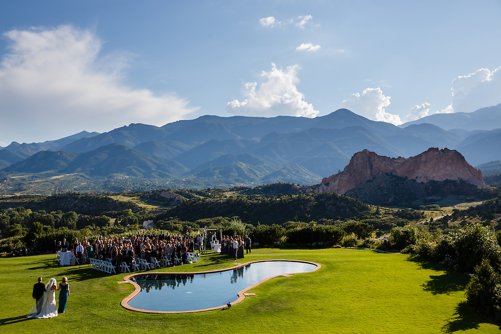 Devan Seidenberg and Joshua Kaplan are married at Garden of the Gods Club in Colorado Springs, Sunday, Aug. 28, 2016. Justin Edmonds Photography