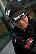 Fixed gear pushbike riders in London