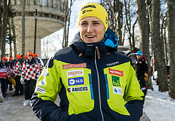 "Stefan Hadalin during FIS Alpine Ski World Cup 2017/18 Men's Slalom race named ""Snow Queen Trophy 2018"", on January 4, 2018 in Course Crveni Spust at Sljeme hill, Zagreb, Croatia. Photo by Vid Ponikvar / Sportida"