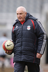 Newcastle, England - Saturday, March 10, 2007: Liverpool's Academy Director Steve Heighway during the FA Youth Cup Semi Final 1st Leg against Newcastle United at St James' Park. (Pic by David Rawcliffe/Propaganda)