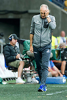 Football — 2016 / 2017 Premier League - Swansea vs Chelsea<br /> <br /> Swansea City manager Francesco Guidolin scratches his head on the touchline at the Liberty Stadium.<br /> <br /> pic colorsport/winston bynorth