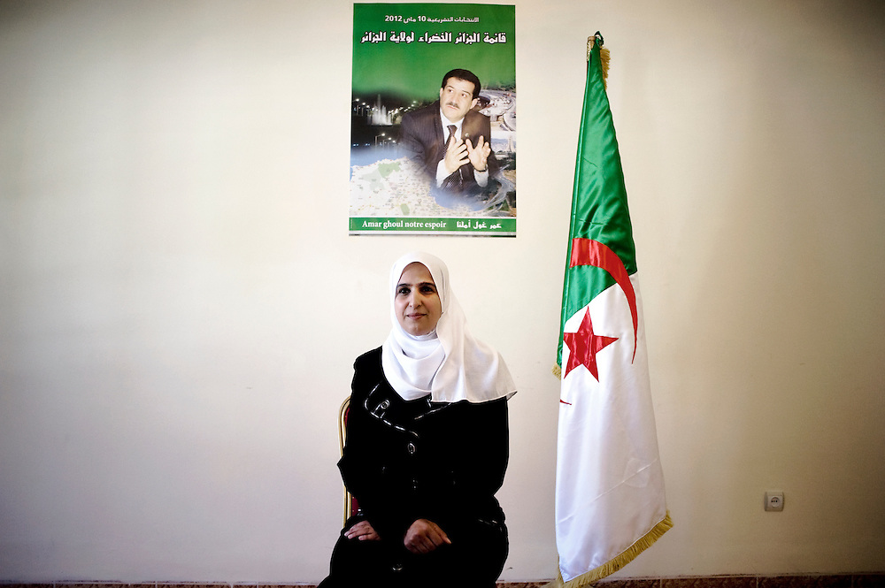 Algiers 10 May. Admane Karima elected in the Green Coalition (Alliance verte). The Green Coalition consists of three islamist parties: En-nhadda; the MSP (ex Hamas) and El Islah. The coalition gets totally 48 parliament seats out of 462.