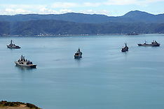 Wellington-Capital hosts navy fleet after Kaikoura quake evacuation