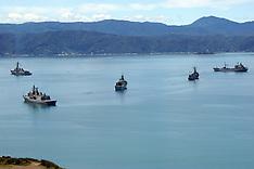 Wellington-Capital hosts navy fleet after Kaikoura quake evacuation