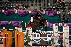 SOSATH Hendrik (GER), Casalido<br /> Leipzig - Partner Pferd 2019<br /> Equiline Youngster Cup<br /> 1. Qualifikation Youngster Tour für 7 und 8 jährige Pferde<br /> 17. Januar 2019<br /> © www.sportfotos-lafrentz.de/Stefan Lafrentz
