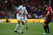 Marcus Rashford (19) of Manchester United during the Premier League match between Bournemouth and Manchester United at the Vitality Stadium, Bournemouth, England on 18 April 2018. Picture by Graham Hunt.