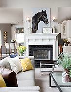 The Delaware home of Dan McClurg for the Capital Style Decor section. (Will Shilling/Capital Style)