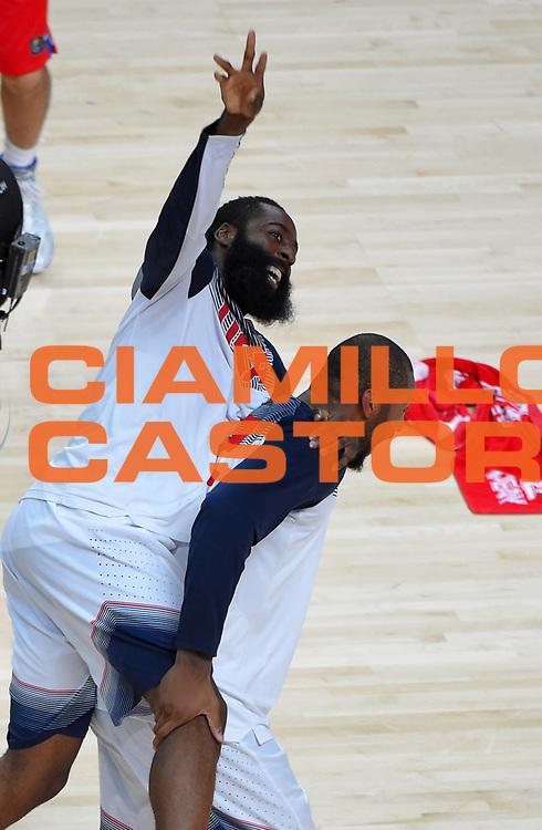 DESCRIZIONE : Madrid FIBA Basketball World Cup Spain 2014 Final USA Serbia <br /> GIOCATORE : James Harden<br /> CATEGORIA : <br /> SQUADRA : USA<br /> EVENTO : FIBA Basketball World Cup Spain 2014<br /> GARA :  USA Serbia<br /> DATA : 14/09/2014<br /> SPORT : Pallacanestro <br /> AUTORE : Agenzia Ciamillo-Castoria<br /> Galleria : FIBA Basketball World Cup Spain 2014<br /> Fotonotizia : Madrid FIBA Basketball World Cup Spain 2014 Final USA Serbia