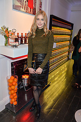 DONNA AIR at the Cointreau launch for Yumi by Lilah Parsons SS/16 collection held at 15 Bateman Street, London on 1st December 2015