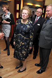 BARONESS THATCHER at the launch of the Imperial War Museum's 70th anniversary commemorating the outbreak of World War 11 held at the Cabinet War Rooms, Whitehall, London on 2nd September 2009.