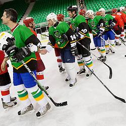 20140307: SLO, Ice Hockey - Humanitarni derbi hokejskih legend Olimpija vs Jesenice