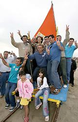 A candidata ao governo do Estado do RS Yeda Crusius na praia do Cassino. FOTO: Jefferson Bernardes/Preview.com